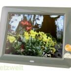 Acht Zoll Bildschirm mit 800 x 600 Pixeln Auflösung.