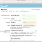 Account anlegen bei Twitter. Name, Benutzername, Passwort und eine Email-Adresse genügen, um mit dem Microblogging zu beginnen.