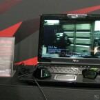 Gaming-Notebook mit Blu-ray-Laufwerk - Shutterbrille nötig.