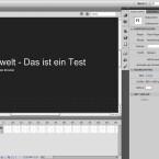 Rechts am Rand zeigt Flash Pro eine Leiste mit Dialogen für Eigenschaften und die Bibliothek. (Bild: Netzwelt)