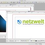 Innerhalb des Hauptfensters lassen sich mehrere geöffnete Dateien in eigenen Fenstern anzeigen. (Bild: Netzwelt)