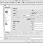 In Einrichtungsdialog des Dokuments werden Format, Ränder und noch mehr konfiguriert. (Bild: Netzwelt)