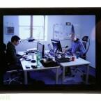 Acht Zoll großer 3D-Bildschirm für den keine Spezialbrille nötig ist.