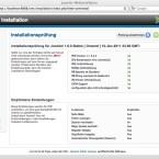 Bei der Installation wird genau geprüft, ob der Server die nötigen Anforderungen auch wirklich erfüllt. (Bild: Netzwelt)