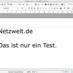 In der Textverarbeitung gibt es einen neuen Dialog zur Verwaltung von Titelseiten. (Bild: Netzwelt)