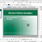 Die Vorlagen in LibreOffice Impress gleichen weitestgehend den Layouts, die schon aus OpenOffice bekannt sind. (Bild: Netzwelt)