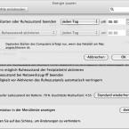Optional kann der Stand-By-Modus auch nach einem Zeitplan gesteuert werden. (Bild: Netzwelt)