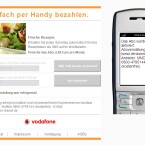Die Bestellung wird auch per SMS bestätigt. (Bild: Vodafone)