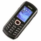 Auf dem Startbildschirm des GT-B2710 von Samsung gibt es eine Schnellzugriffsleiste für wichtige Funktionen.