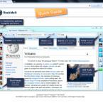 Dazu sind in die Oberfläche Facebook, Twitter und ein RSS-Reader integriert. (Bild: Screenshot)