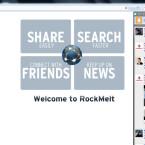 Am rechten Bildschirmrand hat der Nutzer Zugriff auf seine Twitter- und RSS-Feeds sowie Applikationen. (Bild: Screenshot)