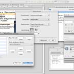 Für die Einstellung des Papierformats gibt greift RagTime auf den Dialog aus Mac OS X zurück. (Bild: Netzwelt)