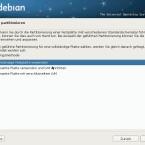 Für die Partitionierung wird das Dateisystem ReiserFS nicht mehr offiziell unterstützt. (Bild: Netzwelt)