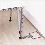 Zur Befestigung am Boden liefert der Hersteller in der Regel einen Anschlussclip mit. (Bild: Q-Lab)