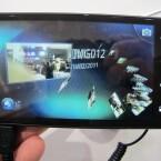 3D-Inhalte zeichnet das Smartphone selbst auf. Sowohl Fotos als auch Videos lassen sich auf diese Weise erstellen. (Bild: netzwelt)