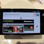 Neue Größe: Mit einem knapp 4,3 Zoll großen Bildschirm stößt Samsung in neue Display-Regionen vor. Aber nicht allein die Größe zählt: Erstmalig kommt ein Super-Amoled-Plus-Display zum Einsatz. (Bild: netzwelt)