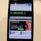 Im Inneren des Galaxy S2 steckt ein Samsung-Dual-Core-Prozessor, der über ordentlich Leistungsreserven verfügt.