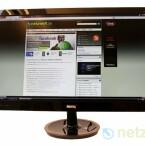 24 Zoll großer Bildschirm mit Full-HD-Auflösung.