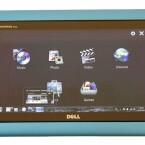 Die Benutzeroberfläche im Tablet-Betrieb enthält nur Links zu Standard-Programmen und Ordnern.