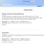 Die OpenOffice.org-Webseite kann Erweiterungen nach Beliebtheit oder Bewertung sortieren. (Bild: Netzwelt)