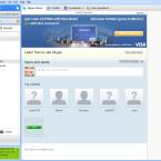 Ab sofort zeigt Skype unter Windows im Hauptfenster Werbebanner an. (Bild: Skype)