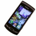 Als Betriebssystem kommt Bada 1.2 zum Einsatz. Die Nutzeroberfläche ist aber wie bei Samsungs Android-Handys TouchWiz. (Bild: netzwelt)