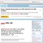 Die OTTO-Gruppe gibt sich im sozialen Netz sehr offenherzig. (Bild: Netzwelt)