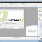Im Gegensatz zu CorelDRAW X4 hat der Hersteller die Oberfläche des Programms kaum verändert. (Bild: Netzwelt)