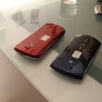 Die Handy sind jeweils leicht gewölbt. (Bild: netzwelt)