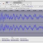 Mit der Zoom-Funktion können Nutzer sehr präzise beide Audiospuren ansehen. (Bild: Netzwelt)