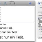 Das Programm besitzt die üblichen Funktionen zur Schriftformatierung. (Bild: Netzwelt)