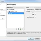 """Im neu geöffneten Fenster folgen Klicks auf """"Massenspeicher"""", den CD-Eintrag im Anzeigefenster sowie das CD-Symbol am rechten Bildrand. (Bild: Screenshot)"""