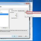 """Im Aufklappmenü wählen Sie nun den rot markierten Eintrag, wählen die heruntergeladene Android-x86-Datei aus und klicken auf """"Öffnen"""". (Bild: Screenshot)"""
