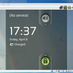 """Nach einem Klick auf """"Starten"""" im Hauptmenü und mehreren Klicks auf """"OK"""" in den aufklappenden Fenstern startet Android-x86. Um den Mauszeiger in Android nutzen zu können, drücken Sie die rechte STRG-Taste und wählen Sie in der Menüleiste des Android-x86-Fensters den Eintrag """"Maschine"""" und hier """"Mauszeiger-Integration deaktivieren"""". (Bild: Screenshot)"""