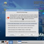Mit Disk Erasing 101 werden Partitionen unwiederbringlich gelöscht. (Bild: Netzwelt)