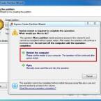 Starten Sie den Rechner mit einem Klick auf die markierte Schaltfläche neu. (Bild: Screenshot)