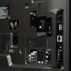 Wichtige Anschlüsse, wie beispielsweise die USB-Anschlüsse, können auch von der Seite gut erreicht werden.