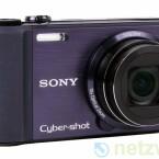 Kompaktkamera mit GPS-Empfänger und zehnfachem Zoom.