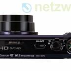 Die Kamera nimmt Videos mit Full-HD-Auflösung und Stereo-Ton auf.