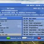 Der Programmführer listet die folgenden acht Sendungen eines Kanals auf. (Bild: netzwelt)