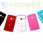 Die Rückseite des Yendo ist austauschbar. Der Nutzer kann das Handy entsprechend seiner Lieblingsfarbe anpassen. Wie viele Schalen jeweils mitgeliefert werden, ist aber abhängig vom Händler. (Bild: netzwelt)