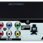 An den LAN-Anschluss auf der Rückseite kann man einen optional erhältlichen WLAN-Adapter anschließen. (Bild: netzwelt)