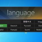 Im Folgebildschirm wählen Sie die gewünschte Sprache durch einen Klick aus. (Bild: Screenshot)