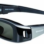 Die Shutterbrille sieht nicht nur gut aus, sondern trägt sich auch so. (Bild: netzwelt)
