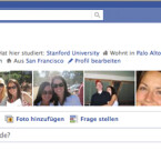 Die Privatssphäre-Einstellungen können nun direkt im Profil festgelegt werden. (Bild: Facebook)