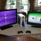In diesem Computergehäuse stecken eine Xbox 360 und eine PlayStation 3. (Bild: Timofiend)