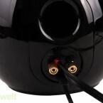 Herkömmliche Boxenkabel verbinden die beiden Lautsprecher. (Bild: netzwelt)