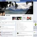 Die Chronik - So sieht bald die neue Profilseite bei Facebook aus. (Bild: Facebook)