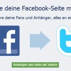 Nutzer können ihr Facebook-Profil mit Twitter verknüpfen. (Bild: Screenshot)