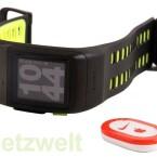 Die Uhr wird mit einem Schuhsensor ausgeliefert, der Laufdaten aufzeichnet, wenn kein GPS-Signal zur Verfügung steht. (Bild: netzwelt)